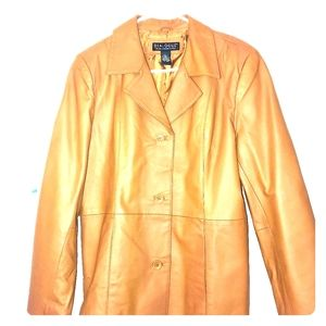 Dialogue women's leather jacket